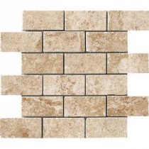 MARAZZI Montagna Cortina 12 in. x 12 in. Porcelain Mesh-Mounted Mosaic Tile
