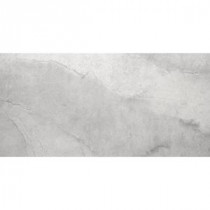 Boca Gray 12 in. x 24 in. Porcelain Floor and Wall Tile (11.55 sq. ft. / case)