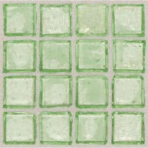 Daltile Egyptian Glass Palm 12 in. x 12 in. x 6mm Glass Face-Mounted Mosaic Wall Tile (11 sq. ft. / case)
