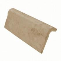 Daltile Briton Bone 2 in. x 6 in. Chair Rail Ceramic Wall Tile