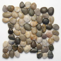 Solistone Anatolia Rumi 12 in. x 12 in. Natural Stone Pebble Mosaic Floor & Wall Tile