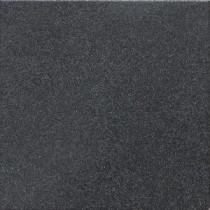 Daltile Colour Scheme Black Speckled 6 in. x 6 in. Bullnose Porcelain Bullnose Floor and Wall Tile