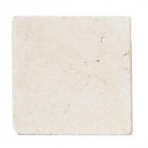 Jeffrey Court Giallo Sienna Marble 6 in. x 6 in. Floor and Wall Tile (4 pieces/1 sq. ft./1 pack)