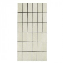 U.S. Ceramic Tile Avila 12 in. x 24 in. Blanco Porcelain Mosaic Tile