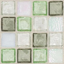 Daltile Egyptian Glass Peridot Fusion 12 in. x 12 in. x 6mm Glass Face-Mounted Mosaic Wall Tile (11 sq. ft. / case)