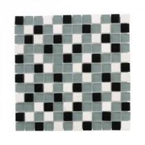 Jeffrey Court Nordic Carrara Glass Mosaics 12 in. x 12 in. Glass Wall / Floor Tile