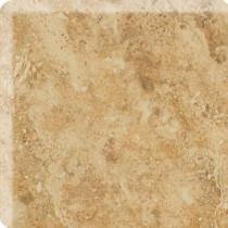 Daltile Heathland Amber 3 in. x 3 in. Glazed Ceramic Bullnose Corner Wall Tile