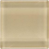 Daltile Isis Creampuff 12 in. x 12 in. x 3mm Glass Mesh-Mounted Mosaic Wall Tile (20 sq. ft. / case)