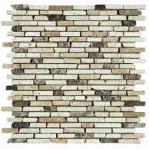 U.S. Ceramic Tile Nerva Stone 12 in. x 12 in. Natural Stone Floor & Wall Tile Mosaic