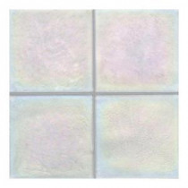 Daltile Cristallo Glass Aquamarine 4 in. x 4 in. Glass Accent Wall Tile