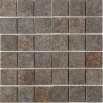 MARAZZI Granite 12 in. x 12 in. Graphite Porcelain Mesh-Mounted Mosaic Tile