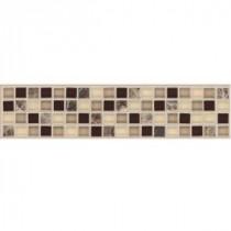 MARAZZI Artisan Coco 12 in. x 2-3/4 in. Bellini Mosaic Tile