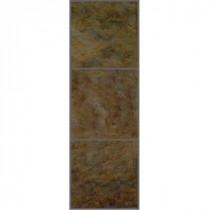 TrafficMASTER Allure 12 in. x 36 in. Patina Resilient Vinyl Tile Flooring (24 sq.ft./ case)