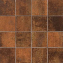 MARAZZI Vanity Rust 12 in. x 12 in. Porcelain Mosaic Tile