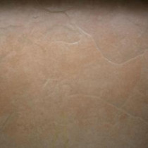 TrafficMASTER Caribbean Sunrise 16 in. x 16 in. Tan Ceramic Floor and Wall Tile