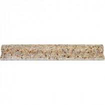 MS International Gold Rush 2 in. x 12 in. Granite Rail-Moulding Wall Tile