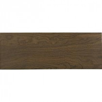 Daltile Parkwood Brown 7 in. x 20 in. Ceramic Floor and Wall Tile (10.89 sq. ft. / case)