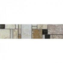 MARAZZI Emilia 3 in. x 12 in. Glazed Porcelain Floor & Wall Tile Listello