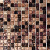 MS International Treasure Trail Iridescent Mosaic 3/4 in. x 3/4 in. Glass Floor and Wall Tile