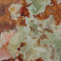 MS International 12 in. x 12 in. Green Polished Onyx Floor and Wall Tile