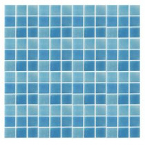 EPOCH Spongez S-Light Blue-1408 Mosaic Recycled Glass 12 in. x 12 in. Mesh Mounted Floor & Wall Tile (5 Sq. Ft./Case)