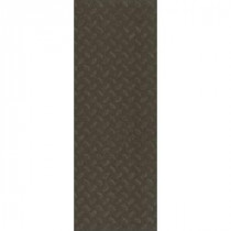 TrafficMASTER Allure Commercial 12 in. x 36 in. Stamped Steel Black Vinyl Flooring (24 sq. ft./case)