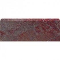 U.S. Ceramic Tile Stratford Copper 3 in. x 12 in. Glazed Ceramic Single Bullnose Floor & Wall Tile