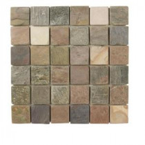 Jeffrey Court Slate Medley 12 in. x 12/2 in. x 2 in. Wall Tile