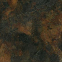 MARAZZI Imperial Slate 12 in. x 12 in. Rust Ceramic Floor and Wall Tile (13.78 sq. ft. /case)