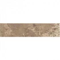 Daltile Santa Barbara Pacific Sand 3 in. x 12 in. Ceramic Bullnose Floor and Wall Tile