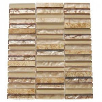 Splashback Tile Sandstorm 12 in. x 12 in. Mixed Materials Floor and Wall Tile