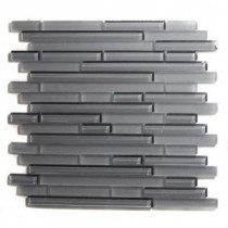 Splashback Tile 12 in. x 12 in. Glass Mosaic Floor and Wall Tile