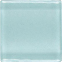 Daltile Isis Whisper Blue 12 in. x 12 in. x 3mm Glass Mesh-Mounted Mosaic Wall Tile (20 sq. ft. / case)