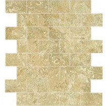Daltile Fantesa Cameo 12 in. x 12 in. x 8mm Ceramic Mosaic Wall Tile
