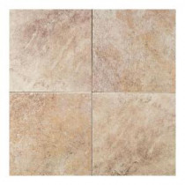 Daltile Continental Slate Egyptian Beige 18 in. x 18 in. Porcelain Floor and Wall Tile (18 sq. ft. / case)