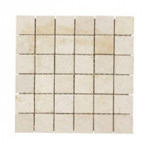 Jeffrey Court Giallo Siena 12 in. x 12 in. Travertine Wall and Floor Tile