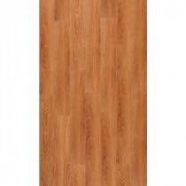 TrafficMASTER InterLock 5-45/64 in. x 35-45/64 in.x 4 mm Traditional Oak Amber Resilient Vinyl Plank Flooring (22.66 sq. ft. /case)
