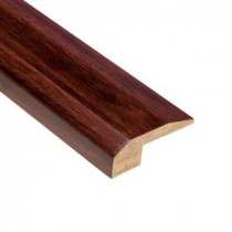 Home Legend Strand Woven Cherry 9/16 in. Thick x 2-1/8 in. Wide x 78 in. Length Bamboo Carpet Reducer Molding
