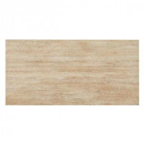 MONO SERRA Travertino Ocra 12 in. x 24 in. Porcelain Floor and Wall Tile (16 sq. ft. / case)