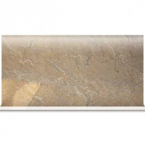 Daltile Ayers Rock Bronzed Beacon 6 in. x 13 in. Glazed Porcelain Cove Base Floor and Wall Tile