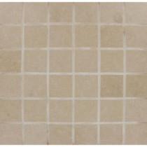 MS International Beton Khaki 2 in. x 2 in. Glazed Porcelain Floor and Wall Mesh-mounted Mosaic Tile