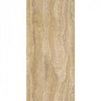 TrafficMASTER Allure 12 in. x 24 in. Ivory Travertine Vinyl Plank Flooring (24 sq. ft. / case)