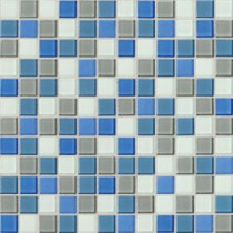 Daltile Isis Polo Blend 12 in. x 12 in. x 3mm Glass Mesh-Mounted Mosaic Wall Tile (20 sq. ft. / case)