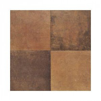 Daltile Terra Antica Rosso 6 in. x 6 in. Porcelain Floor and Wall Tile (11 sq. ft. / case)