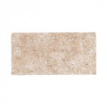 Jeffrey Court Travertine Noce 6 in. x 3 in. Travertine Wall & Floor Tile (1pack/8pieces-1sq. ft.)