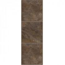 TrafficMASTER Allure 12 in. x 36 in. Chocolate Vinyl Tile Flooring (24 sq. ft./Case)