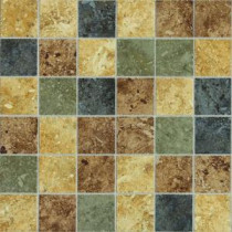 Daltile Heathland Sunset 12 in. x 24 in. x 8mm Glazed Ceramic Mosaic Floor and Wall Tile (24 sq. ft. / case)