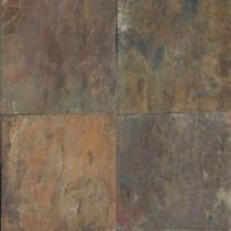 MS International Rustique Earth 16 in. x 16 in. Gauged Slate Floor & Wall Tile