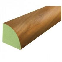 Antebellum Oak 3/4 in. Thick x 3/4 in. Wide x 94 in. Length Laminate Quarter Round Molding