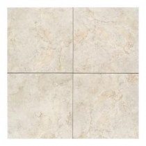 Daltile Brancacci Aria Ivory 18 in. x 18 in. Glazed Ceramic Floor and Wall Tile (18 sq. ft. / case)
